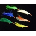 CAIVO SABIKI RIGS 6 HOOKS RAINBOW LONG FEATHER 456