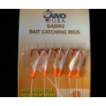 CAIVO SABIKI RIGS 6 RED HOOK W/ FISH SKIN 419